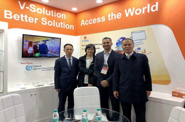 V-SOL successfully participated in the 27th India Communication Exhibition