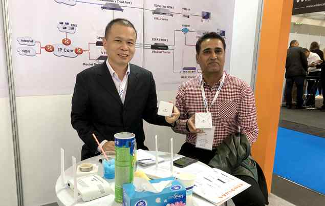 V-SOL attended ANGACOM2019 Exhibition successfully